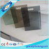 Big building 5mm tinted construction colored window glass with CE certification