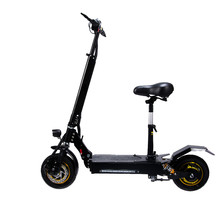 10 Inch Electric Scooter Off-road Straight Suspension Single Drive 48V/15.6AH 800W Brushless DC motor