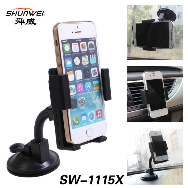 Shun Wei 360 multifunctionele mobiele telefoon houder auto
