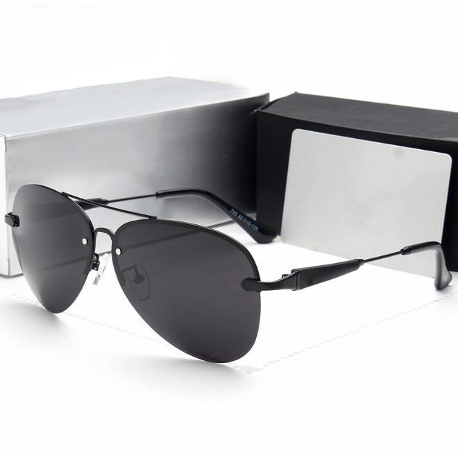 En gros la commande de stock 2017 nouveau hommes polarisées lunettes de  soleil sans cadre conduite 2287d47da2bb