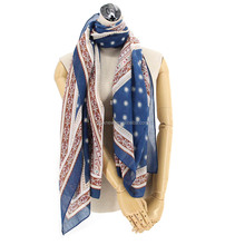 2017 viscose print women fashion russian shawl scarf
