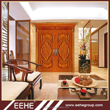 Enter wood door with double wooden main entrance door design/wooden door polish design