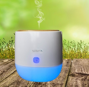commercial aroma diffuser with soft light