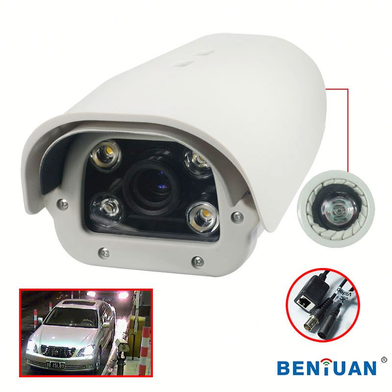 8 channel cctv camera system 2.0 MegaPixel High Definition license plate recognition(LPR) waterproof IP Camera