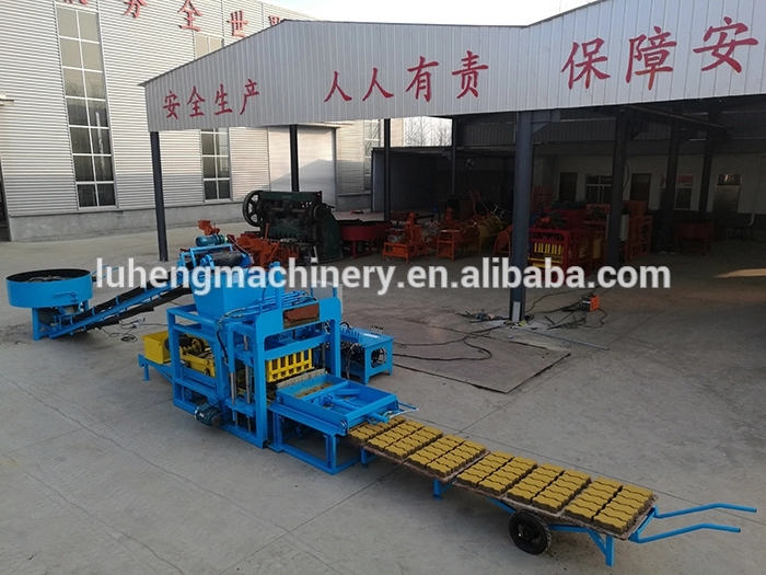 Auto Concrete Block Making Machine Price Cement Brick Making Machine