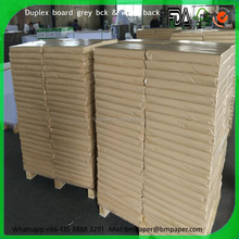 300gsm Paper High Quality One Side White Coated Gray Back Duplex Board