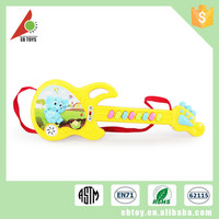 Cheap electric cartoon plastic guitar musical instruments toy