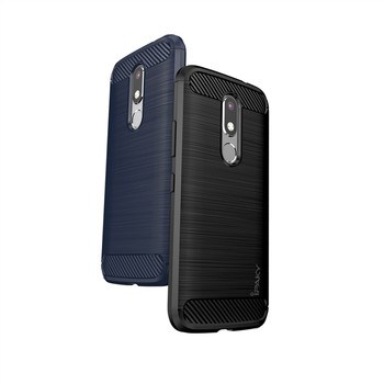 sports shoes 824d3 3ab15 Ipaky Hot Selling Carbon Fiber Shockproof Rugged Armor Fitted Back Cover  Phone Case For Moto Motorola M - Buy Case For Motorola M,Carbon Fiber Case  ...