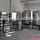 15TPH commercial reverse osmosis system for pure water , with stainless steel water tank