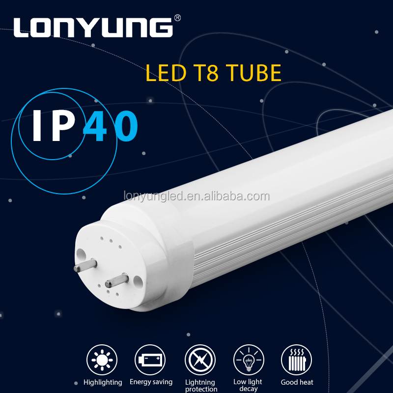 Office Hotel Supermarket SMD led lights suspending or surface mounted 9w-44w price led tube light t8