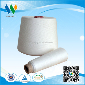 Welljoy 100% ring spun polyester yarn 40/2 40/3 yarn importers agents
