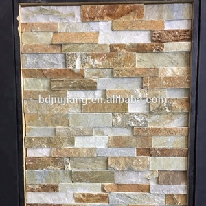 golden harvest stepped wall stone ledge panel
