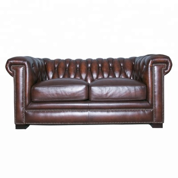 Leather Chesterfield Sofa Set