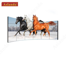 Yaxunda 55 inch 1.8mm <span class=keywords><strong>bezel</strong></span> 700 nits DEED Panel <span class=keywords><strong>TFT</strong></span> LCD Video Muur