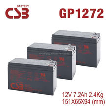 battery 12v 7.2ah 12v power supply battery backup