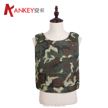 NIJ IIIA 9mm Military Used Bullet Proof Vest with Woodland Camouflage Front&Back Side Plate Carriers