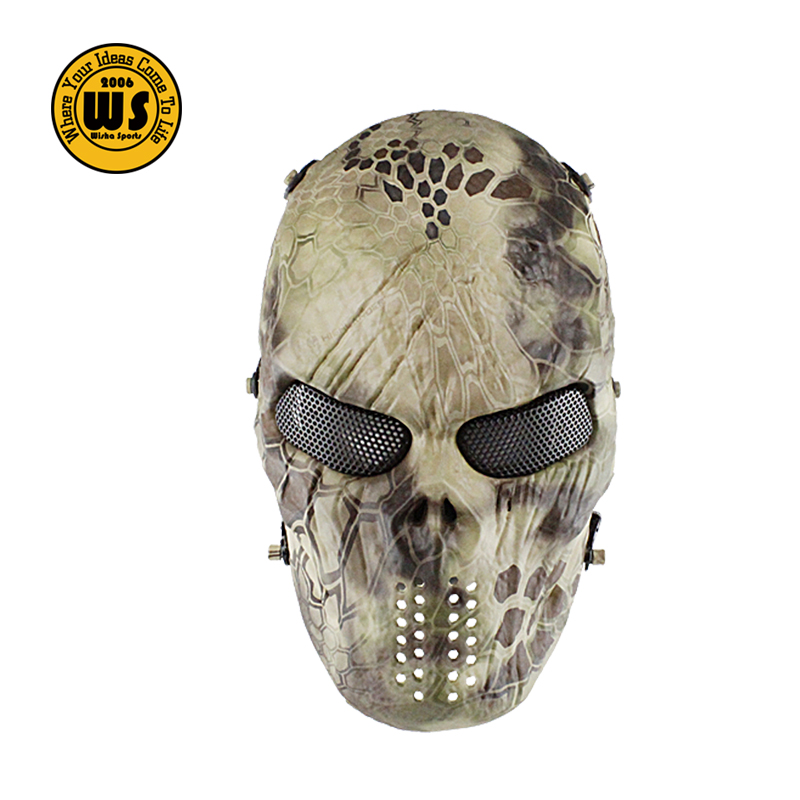 Tactical Full Face Airsoft Skull Paintball Mask Buy Skull Mask Paintball Mask Airsoft Skull Mask Product On Alibaba Com