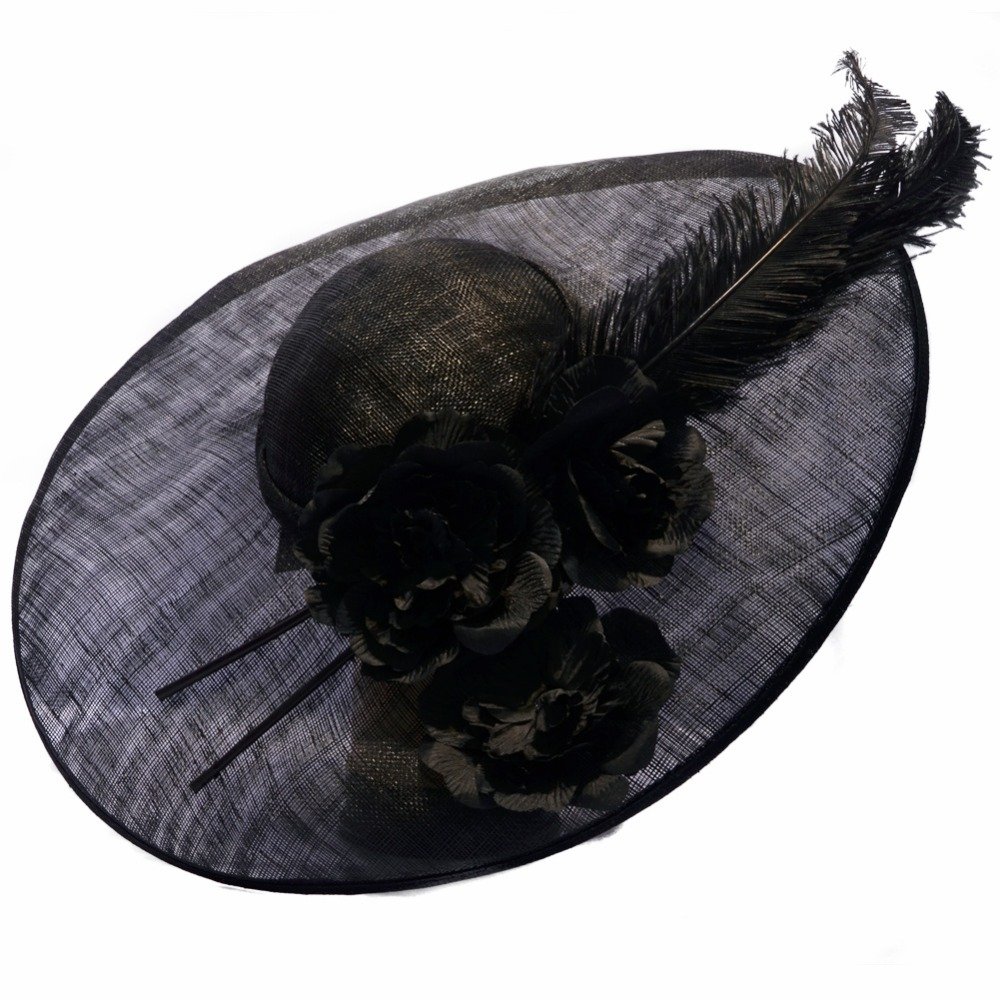 Ladies Fashion hats and Fascinators Wholesale with Flower and Feathers