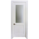 New Design Decorative Inserts Glass Pvc Toilet Strong Room Door Price