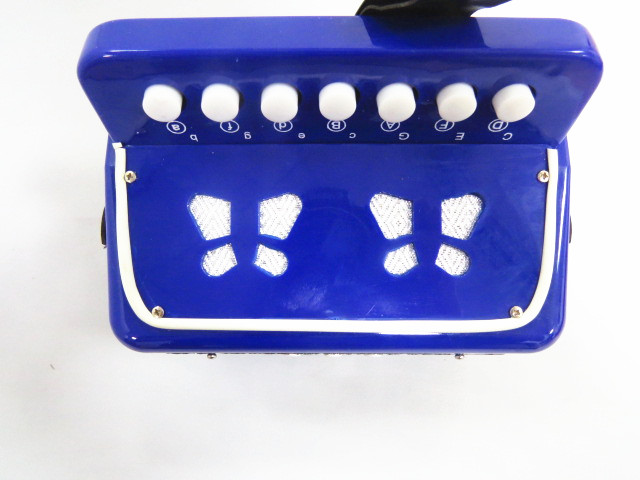 2 bass 7 keys mini toy accordion musical instruments for children