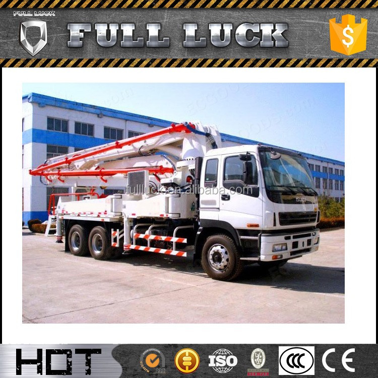 25m3/h Mobile Hydraulic Truck Mounted Concrete Mixer Pump for Sale