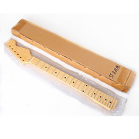 Maple Neck For Electric Guitar 22 Fret Maple Fingerboard Wood Parts DIY Kits