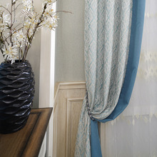 Modern design fashion home textile decorative blackout sun curtain