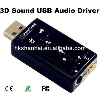 3d sound usb audio device driver.