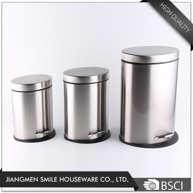Oval Shaped Office Waste Bin Dustbin Garbage Can