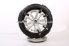 Plastic snow/ice tire chain for passenge car