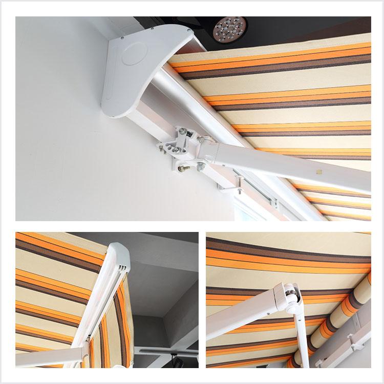 High Quality Metal Awning Materials Aluminum Folding Arm ...