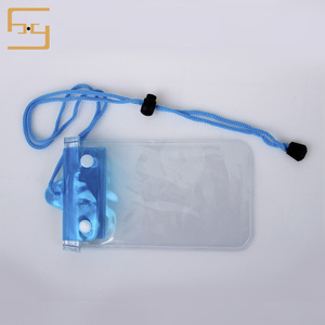 Customized Different Color Water Proof Phone Pvc Bag for Swimming