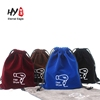 Hot sale hair dryer velvet drawstring bag