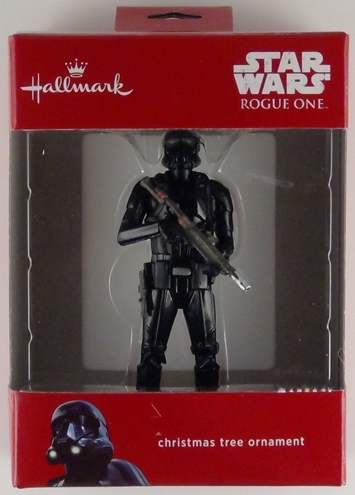 Hallmark Star Wars Rogue One Death Stormtrooper Christmas Tree Ornament 2016