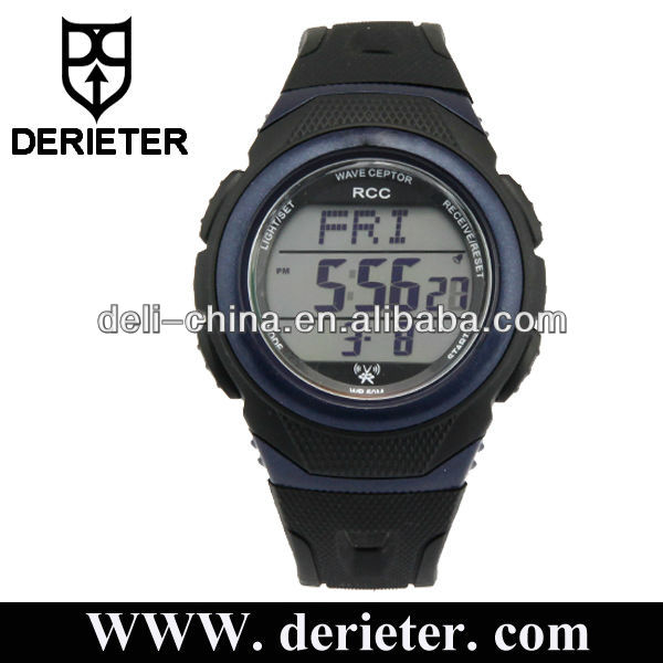 Radio Controlled Watches Digital DCF77, MSF, JJY or WWVB