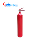 Portable Alloy Steel Cylinder Carbon Dioxide 5kg Co2 Fire Extinguisher