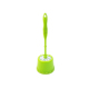 plastic flower toilet brush with bowl long handle brush