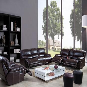 Couro Luxuoso Do Luxuoso Da Mobilia Moderna De Sf3671 Nenhum Jogo Elegante Inflavel Do Sofa Da Sala De Visitas De Recling Buy Conjunto De Sofa