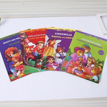 Di alta qualità di stampa inglese cartone animato animale bambini