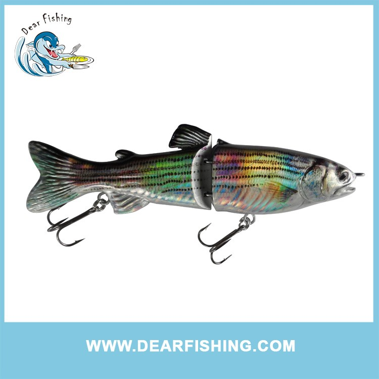 Fishing Tackle 7Inch S shape Glide Trout Fishing Lures