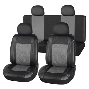Deluxe Car Printing Seat Cover Leather Car 5 Seat