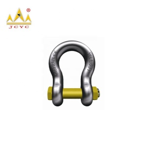 Galvanized T8 S6 M4 G209 bow type shackle