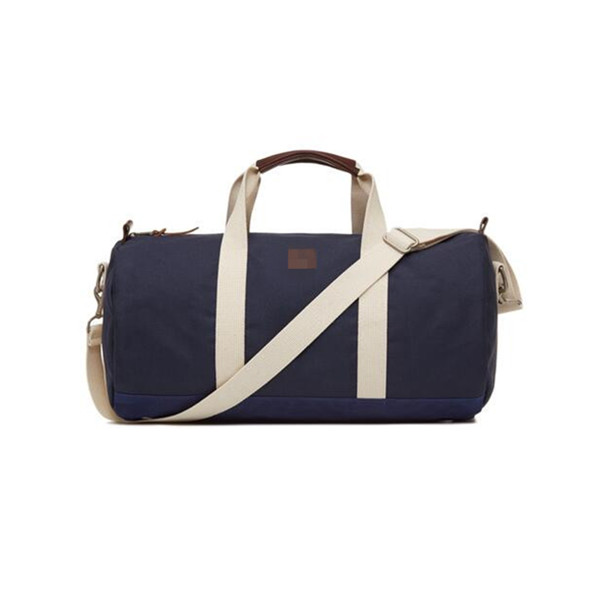 Gym duffle bag canvas barrel tasche