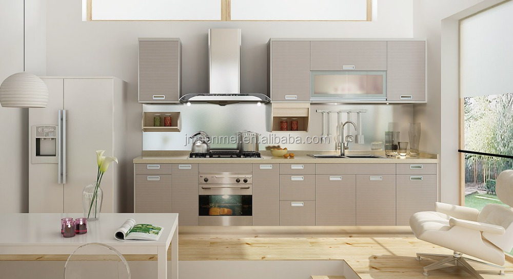 Hoge kwaliteit standaard goedkope kleine keuken ontwerp met keuken ...