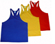 Blank fitness armhole mens stringer tank top