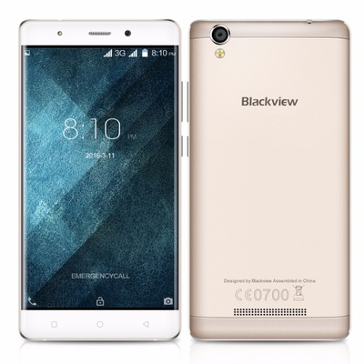 Latest & cheapest 5.0inch blackview a8 MTK6580A Quad core smart mobile phone 1GB RAM 8GB ROM best selling android phone