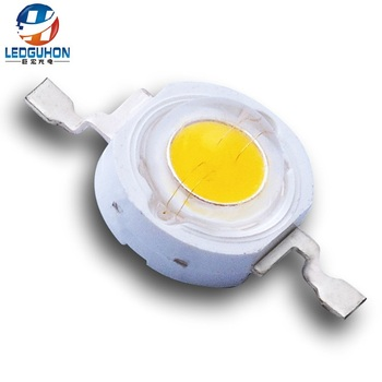 3000K 350mA 3V packing 1w warm white high power led chip