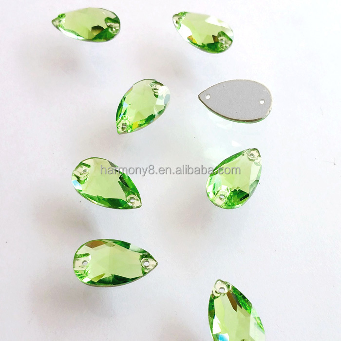 18x105mm Sew On Stone Peridot Color For Clothes Decoration Buy