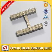 Customized all grinding tools diamond segment for saw blade granite