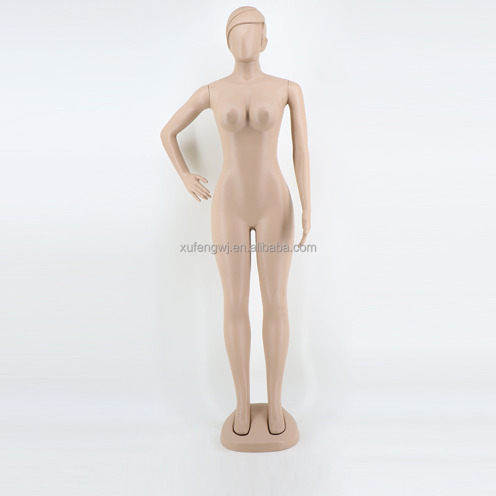 F-27A cheap skin color stand display female full body mannequin